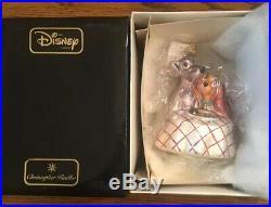 Christopher Radko Disney Lady and The Tramp 1554/3500 Glass Ornament 98-DIS-39