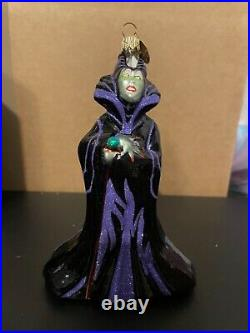 Christopher Radko Disney Maleficent Ornament