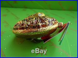 Christopher Radko Disney Pirates of the Caribbean Glass Ornament
