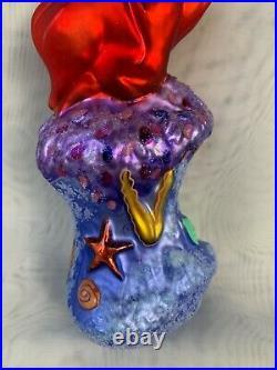 Christopher Radko Disney's Ariel The Little Mermaid Christmas Ornament