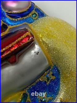 Christopher Radko Disneyland 50th Anniversary Tomorrowland Glass Ornament