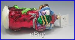 Christopher Radko Dr Seuss The Grinch And Whozits 1997 Ornament New