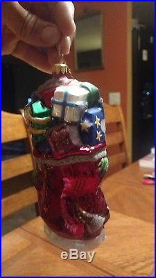 Christopher Radko Dr. Suess Christmas Ornament Grinch & Whozits 1997 RARE in Box