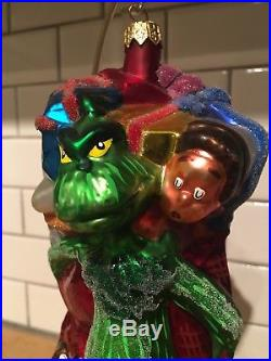 Christopher Radko Dr. Suess Ornament Grinch & The Whozits 1997 97-SUS-05