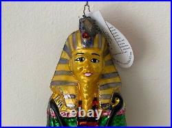 Christopher Radko Egyptian Christmas Ornament of King Tutankhamun