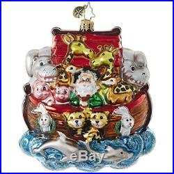 Christopher Radko Everyone On! Religious Christmas Ornament
