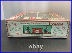 Christopher Radko Fantasia 6 Blown Glass Ornaments in Box Hand Painted Poland
