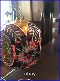 Christopher Radko Fantasia Grand Stardust Memories Large Ornament