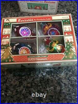 Christopher Radko Fantasia Ornaments