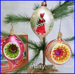 Christopher Radko Fantasia Select Edition Set 3 Ornaments Ltd Numbered Box 2001