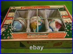 Christopher Radko Fantasia Vintage Ice Delite Set of 3