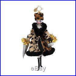 Christopher Radko Fifth Avenue Flora Italian Diva Retired Ornament 1017007