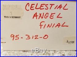 Christopher Radko Finial Ornament c. 1990 Celestial Angel New in Box