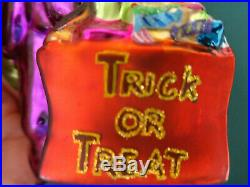 Christopher Radko Frankenstein Frankentreat Halloween Ornament, Trick or Treat
