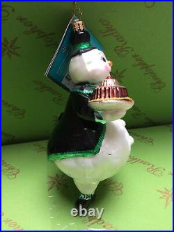 Christopher Radko Frosty Treat Asst 2 Glass Ornament