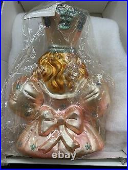 Christopher Radko GLINDA THE GOOD WITCH Ornament Wizard of Oz retired 98-WB-03