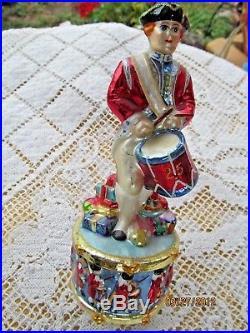 Christopher Radko Glass Ornament Drummer's Dozen 12 Days Of Christmas #12
