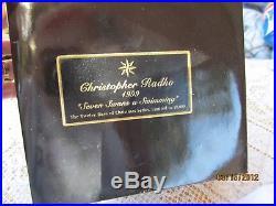Christopher Radko Glass Ornament Ltd Seven Swans A Swimming 12 Days Of Christmas