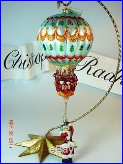 Christopher Radko HANG ON'TIL CHRISTMAS Polish Limited Edition Ornament MINT