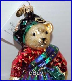 Christopher Radko HIGHLAND FLING MUFFY Christmas Ornament 01-NAB-09