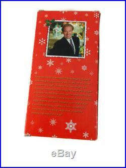 Christopher Radko Handblown Glass Moon and Stars Drop Ornament 8 In box Target