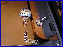 Christopher Radko Hang On Til Christmas Hot Air Balloon Ornament
