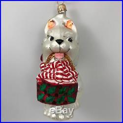 Christopher Radko Husky Dog Holiday Christmas Tree Holiday Ornament 99-046-0