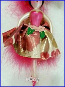 Christopher Radko Italian BRIDGETTE BORDEAUX 2001 Retired Ornament
