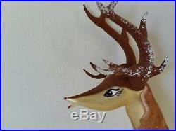 Christopher Radko Italian Blown Glass Ornament BABY BLITZEN 2004 Reindeer