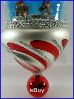 Christopher Radko Italian Blown Glass Ornament BETHLEHEM BLESSED 2006 Nativity