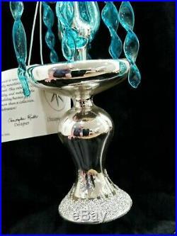 Christopher Radko Italian Blown Glass Ornament CRYSTAL FOUNTAIN 1993