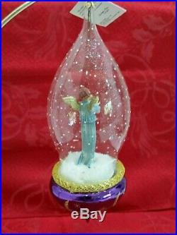 Christopher Radko Italian Blown Glass Ornament GABRIEL'S HORN 1996