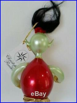 Christopher Radko Italian Blown Glass Ornament MAJIC JENIE 2000
