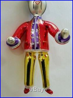 Christopher Radko Italian Blown Glass Ornament MR MOTO 1994