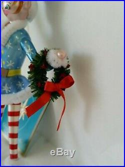 Christopher Radko Italian Blown Glass Ornament SPRITELY SPRINGER 2006