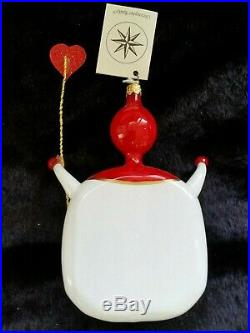 Christopher Radko Italian Blown Glass Ornament WHAT A CARD 1996