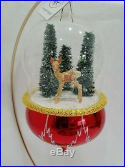 Christopher Radko Italian Blown Glass Ornament WINTER MORNING 1996