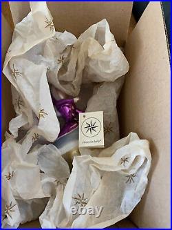 Christopher Radko Italian Glass Holiday Ornament Gay Blades Sonya Honey