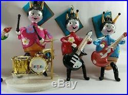 Christopher Radko Italian Glass Ornament BEETLE MANIA 2007 The Beatles