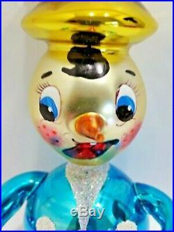 Christopher Radko Italian Glass Ornament BIRD BRAIN 94-254-0