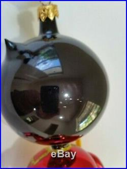 Christopher Radko Italian Glass SIGNED! Ornament KITTY TAMER 1994 RARE