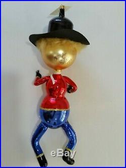 Christopher Radko Italian Glass SIGNED! Ornament QUICK DRAW 1994 RARE