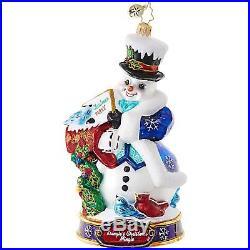 Christopher Radko Kringle's Christmas Mingle Set of 12 Christmas Ornaments