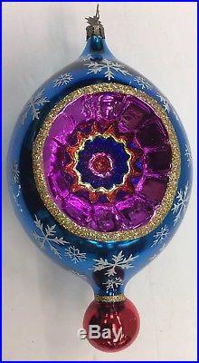 Christopher Radko Large COUNTRY SCENE Tree Ornament 20th Anniversary RARE 10