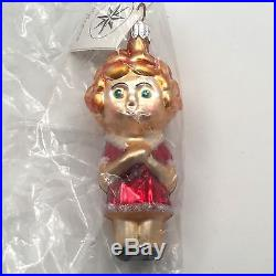 Christopher Radko Little Orphan Annie Christmas Tree Holiday Ornament 940470