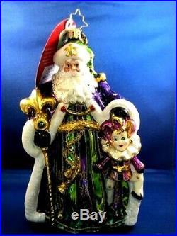 Christopher Radko Master of Mardi Gras Ornament