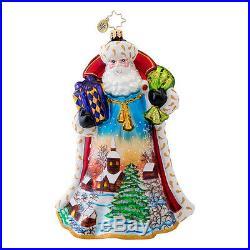 Christopher Radko Midnight Sky Limited Edition Ornament Santa 1017034