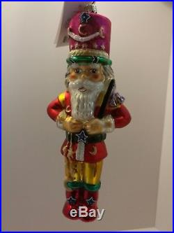 Christopher Radko Moscow Circus Grand Ring Master 1998 Christmas Tree Ornament