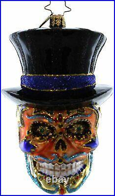 Christopher Radko Mr. Dead Halloween Ornament