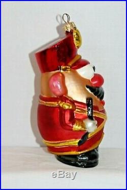 Christopher Radko Mr. Potato Head Toy Soldier Ornament Made in Poland